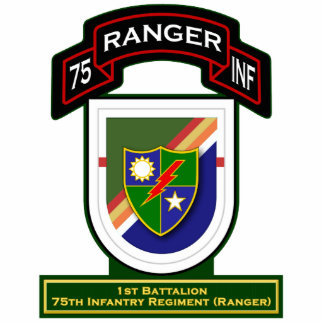 1st Bn, 75th Infantry Regiment - Rangers Statuette