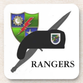 1ST BN 75TH RANGER DRINK COASTERS