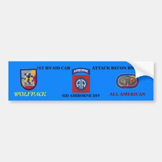 1st Bn 82nd CAB 82nd ABN Bumper Sticker