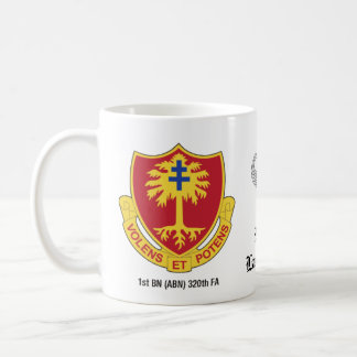 1st BN (ABN) 320th FA, 82nd ABN DIV Mug