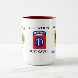 1ST BN (ABN) 504TH 82D OPERATION JUST CAUSE MUG