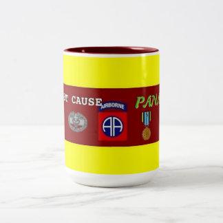 1st bn (Abn) 504th Panama Just Cause CMB Mug