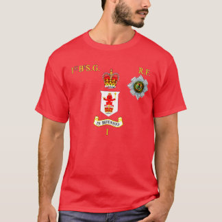 1st bn Scots Guards Right Flank T-Shirt