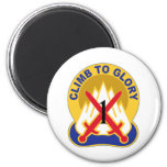 1st Brigade 10th Mountain Division 2 Inch Round Magnet