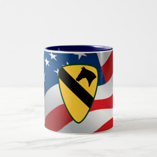 1st Calvary Division Two-Tone Coffee Mug