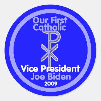 1st CATHOLIC VP Sticker
