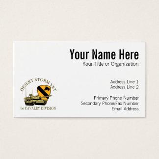 1st Cav Desert Storm Vet Business Card