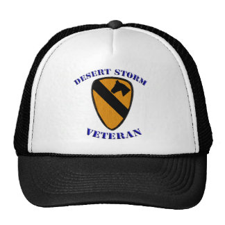 1st Cav Desert Storm Veteran Trucker Hat