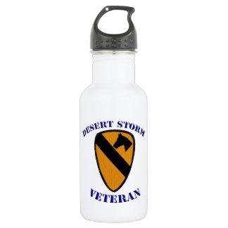1st Cav Desert Storm Veteran 18oz Water Bottle