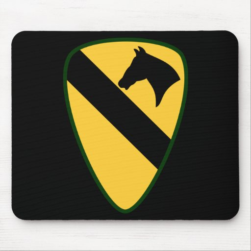 1st cav Mouse Pad