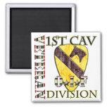 1st Cav OIF Veteran Refrigerator Magnet