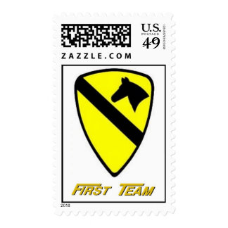 1st CAV  Stamps