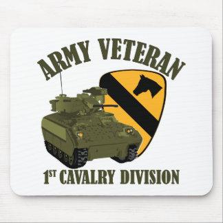 1st Cav Vet - Bradley Mouse Pad