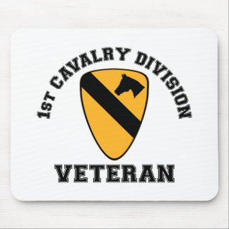 1st Cav Vet - College Style Mouse Pad