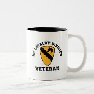 1st Cav Vet - College Style Mugs