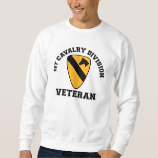 1st Cav Vet - College Style Pullover Sweatshirt
