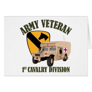 1st Cav Vet - Humvee Ambulance Card