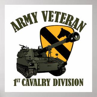 1st Cav Vet - M109 Howitzer Poster