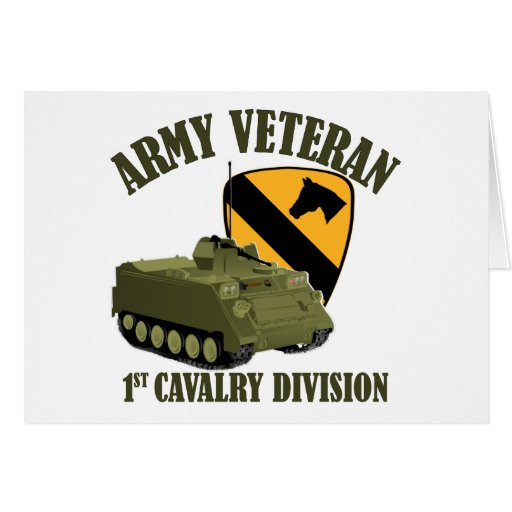 1st Cav Vet - M113 APC Card
