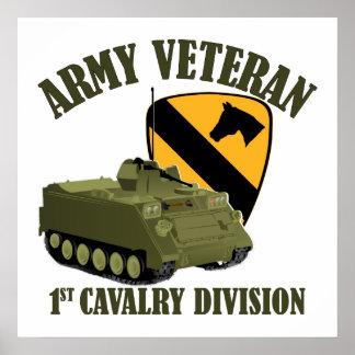 1st Cav Vet - M113 APC Poster