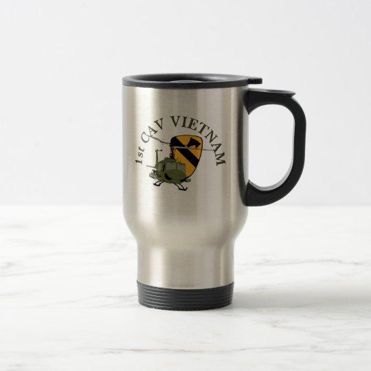 1st Cav Vietnam Travel Mug