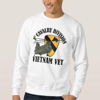 1st Cav Vietnam Vet - CH-47 Pullover Sweatshirt