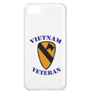 1st Cav Vietnam Veteran iPhone 5C Cover