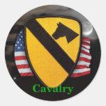 1st cavalry air cav army scrapbooks patch Sticker