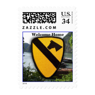 1st cavalry air cav division nam patch stamps