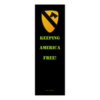 1st cavalry air cav veteran  patches  Profile Card Double-Sided Mini Business Cards (Pack Of 20)