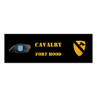 1st cavalry air cav veterans fort hood bookmarkers Double-Sided mini business cards (Pack of 20)