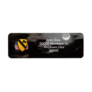 1st cavalry air cav vets iraq return address Label