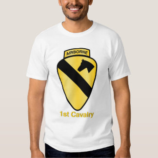 1st Cavalry Airborne Tee Shirts