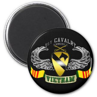 1st Cavalry-Airmobile, Vietnam Magnet