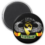 1st Cavalry-Airmobile, Vietnam Refrigerator Magnet
