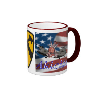 1st Cavalry - Chinook Ringer Mug