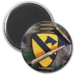 1st cavalry div air cav division fort hood Magnet Refrigerator Magnets