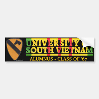 1st Cavalry Div.- U of South Vietnam Sticker