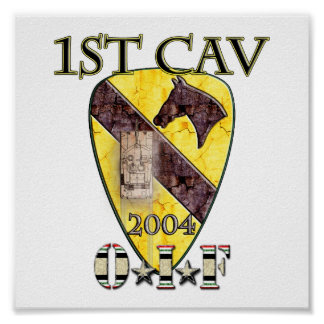 1st Cavalry Division 2004 OIF Poster