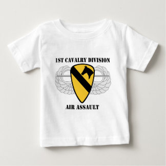 1st Cavalry Division Air Assault - With Text Infant T-shirt