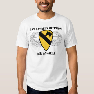 1st Cavalry Division Air Assault - With Text Shirt