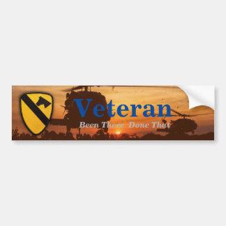 1st cavalry division air cav nam bumper sticker car bumper sticker