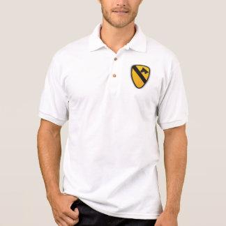 1st Cavalry Division Air Cav Patch polo shirt