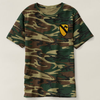1st Cavalry Division Air Cav Patch T-shirt