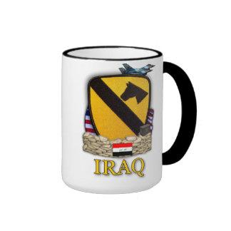 1st cavalry division air cav veterans iraq vets Mu Coffee Mugs