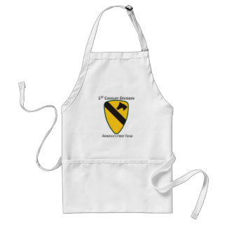 1st Cavalry Division Adult Apron