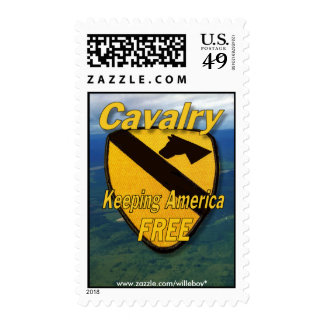 1st cavalry division army postage stamp air cav