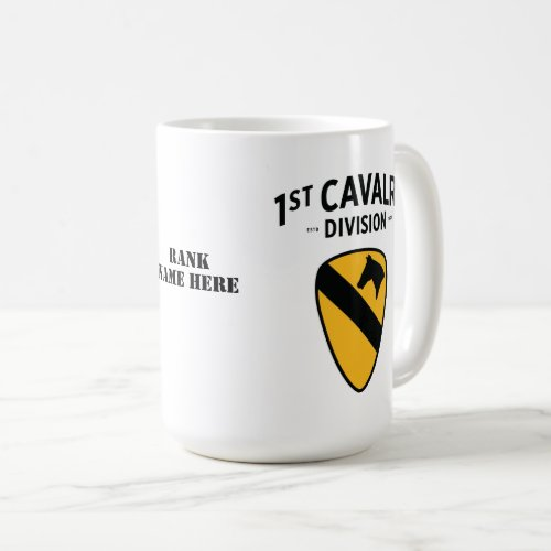 1st Cavalry Division Badge Coffee Mug