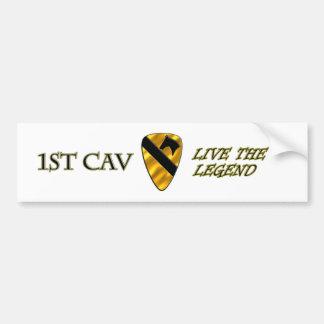 1st Cavalry Division Car Bumper Sticker