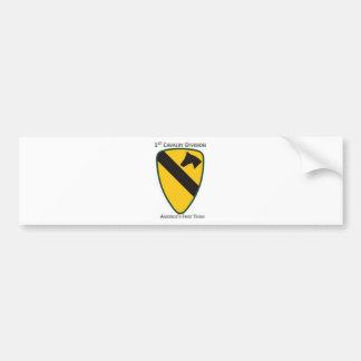 1st Cavalry Division Bumper Sticker